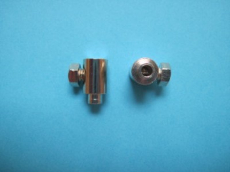 Blind Cable Wire Cord Barrel Clamps X2
