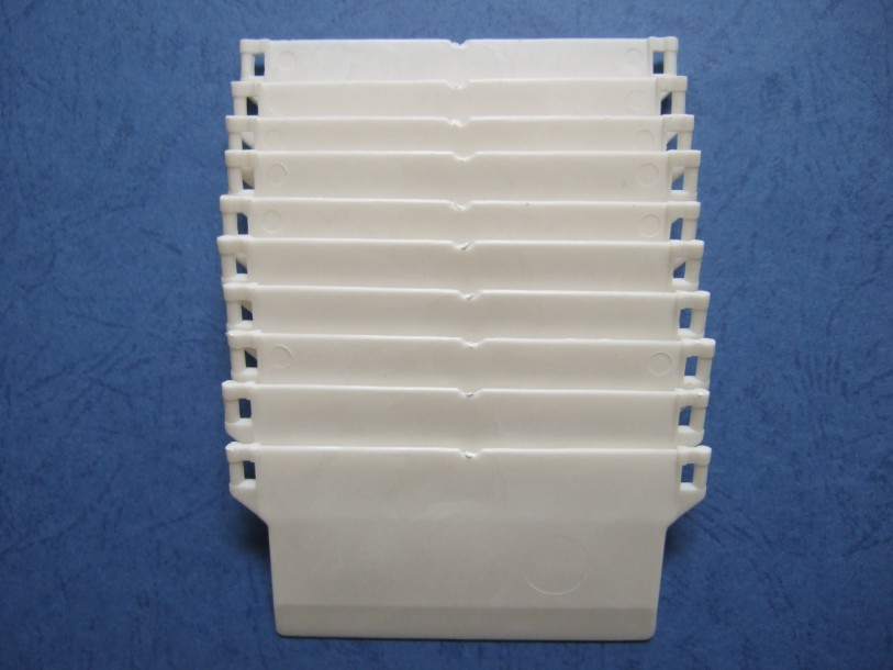 White Vertical Blind Bottom Weights For Wide 5 Narrow 3 5