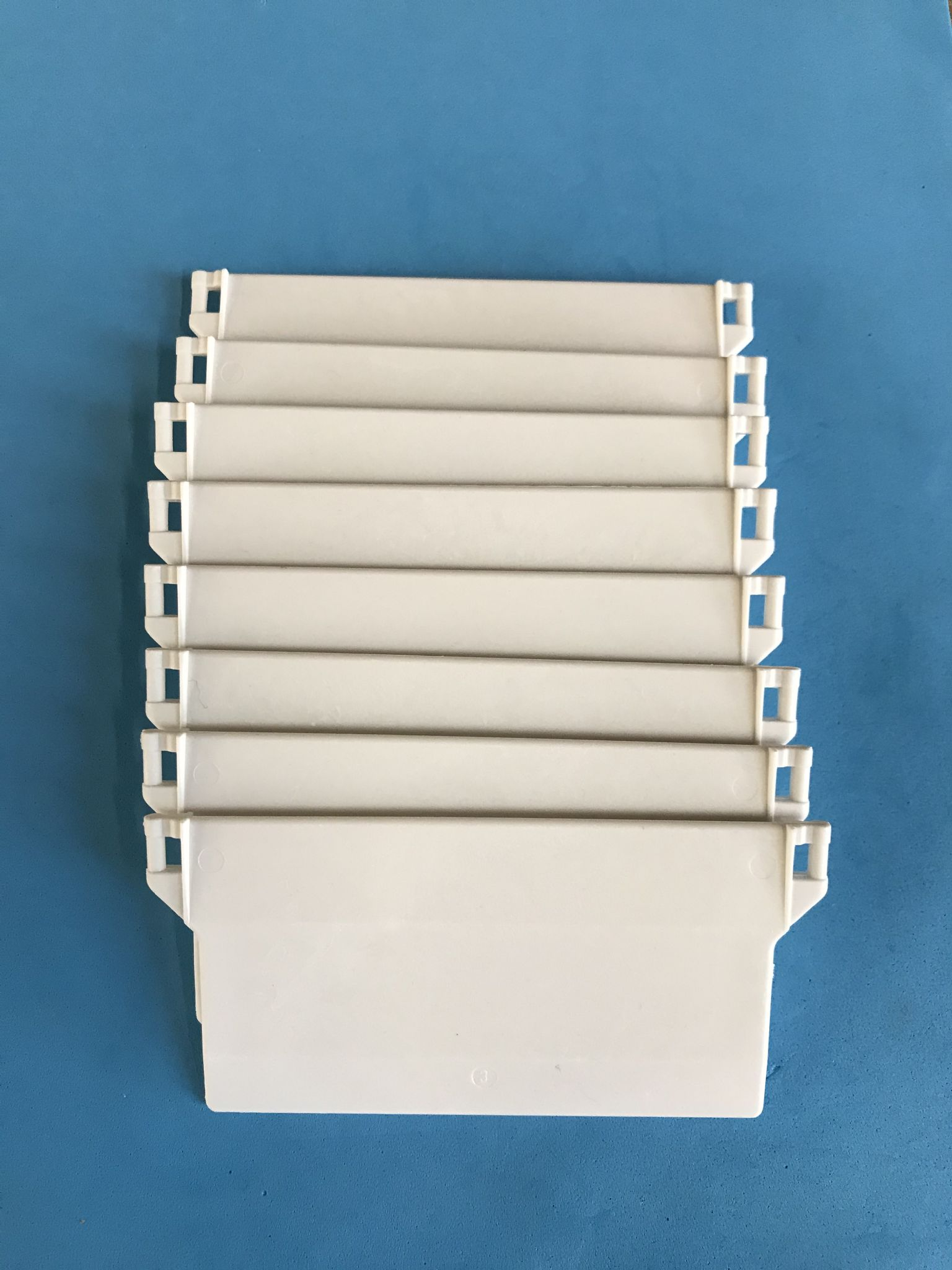White Vertical Blind Bottom Weights For Wide 5 Amp Narrow 3